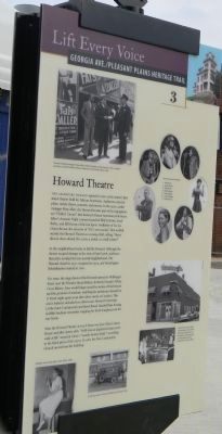 Howard Theatre Marker image. Click for full size.