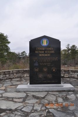 War Memorial Etowah County Marker image. Click for full size.