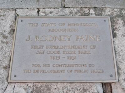 J. Rodney Paine Plaque image. Click for full size.