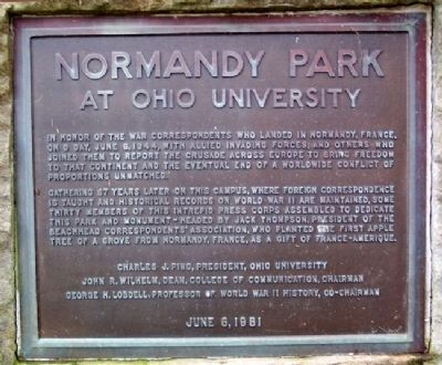 Normandy Park Marker image. Click for full size.