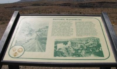 Historic Randsburg Marker image. Click for full size.