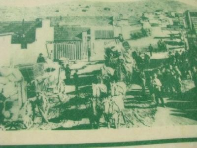 Photo Displayed on Historic Randsburg Marker image. Click for full size.