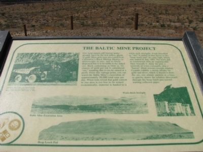 The Baltic Mine Project Marker image. Click for full size.