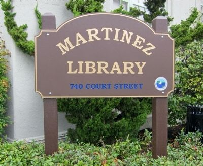 Martinez Public Library image. Click for full size.