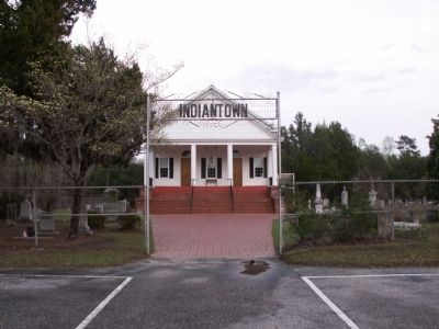 Present Day Indiantown Presbyterian Church image. Click for full size.