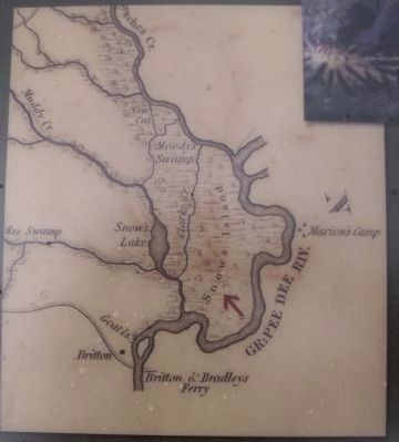 Map on the marker image. Click for full size.