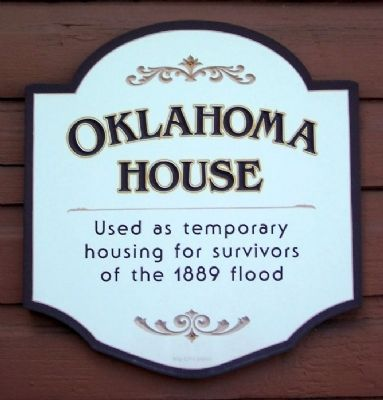 Oklahoma House Marker image. Click for full size.