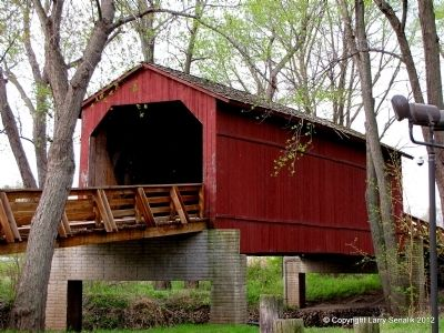 Sugar Creek Covered Bridge image. Click for full size.