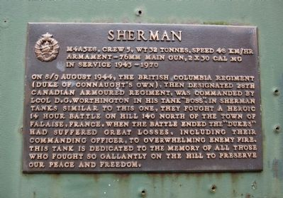 Sherman Marker image. Click for full size.