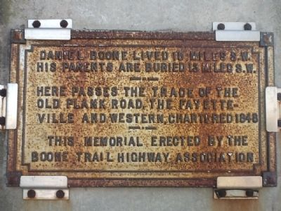 Daniel Boone Trail Highway Marker image. Click for full size.