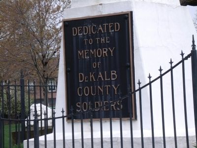 DeKalb County Veterans Memorial Marker image. Click for full size.