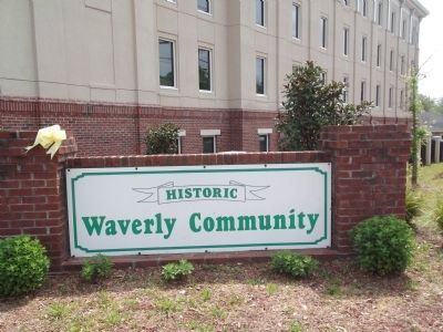 Waverly Community Sign image. Click for full size.