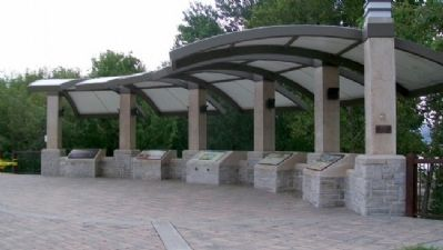 Pavilion at Lewis and Clark Historic Park at Kaw Point image. Click for full size.