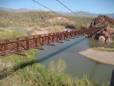 New Bridge, Spanning the Verde River image. Click for full size.