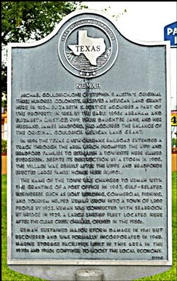 Kemah Marker image. Click for full size.