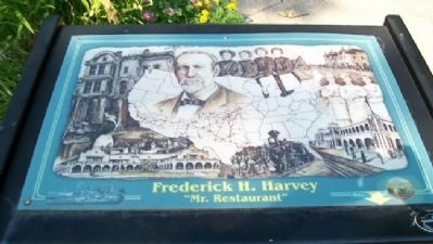 Frederick H. Harvey Marker image. Click for full size.