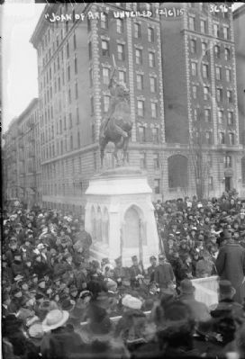 Joan of Arc Unveiled in New York image. Click for full size.