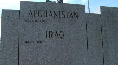 Afghanistan -and- Iraq - - Names Listed image. Click for full size.