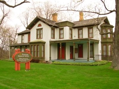Haines House - home of Waukegan Historical Society image. Click for full size.