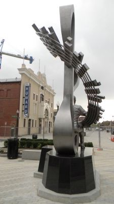 The Howard Theatre - viewed from the new Duke Ellington memorial at T St. and Florida Ave. image. Click for full size.