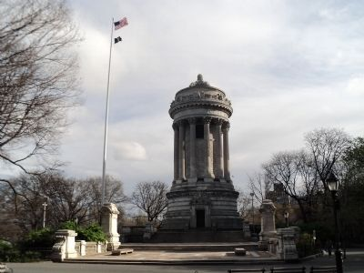 Soldiers and Sailors Memorial Monument image. Click for full size.