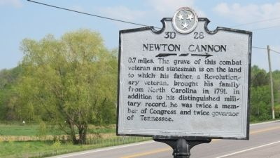 Newton Cannon Marker image. Click for full size.