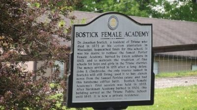 Bostick Female Academa Marker image. Click for full size.