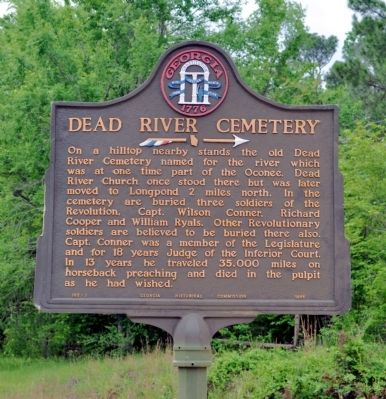 Dead River Cemetery Marker image. Click for full size.