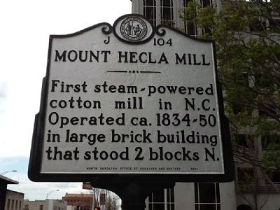 Mount Hecla Mill Marker image. Click for full size.