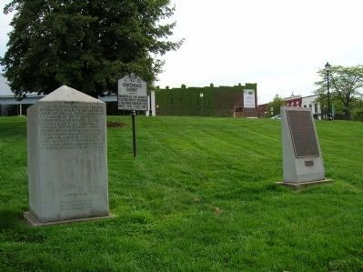 The Army of Tennessee Marker and surrounding markers image. Click for full size.