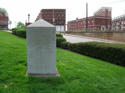 The Army of Tennessee Marker (Right) image. Click for full size.