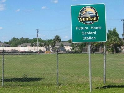 SunRail - Future site of Sanford Station image. Click for full size.