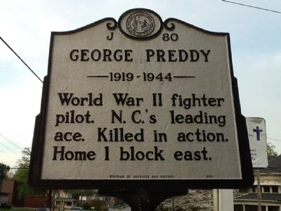George Preddy Marker image. Click for full size.