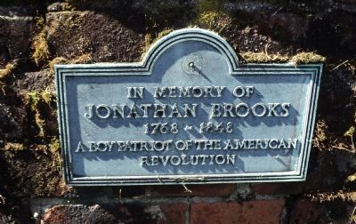 Jonathan Brooks Marker image. Click for full size.