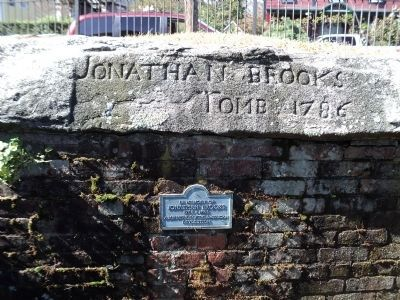 Jonathan Brooks Tomb Marker image. Click for full size.