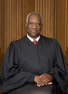 Justice Clarence Thomas image. Click for full size.