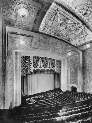 Proscenium, from the Balcony image. Click for full size.