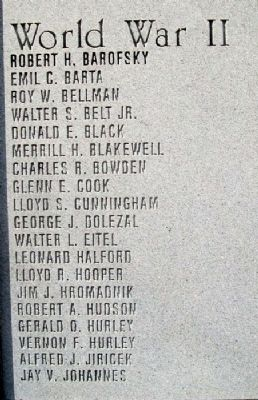 Ellsworth County Veterans Memorial image. Click for full size.