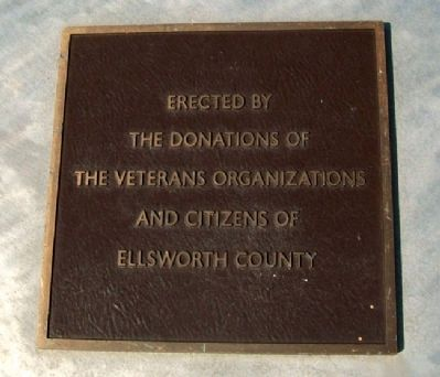 Ellsworth County Veterans Memorial Sponsors image. Click for full size.