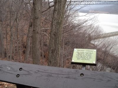 Marker in Bear Mountain State Park image. Click for full size.