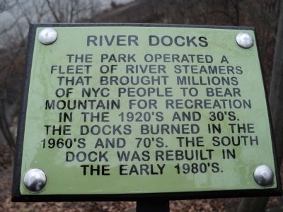 River Docks Marker image. Click for full size.