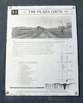 The Plaza (1873) Marker image. Click for full size.