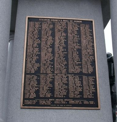 North Side - - Honor Roll image. Click for full size.