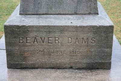 Beaver Dams Monument image. Click for full size.