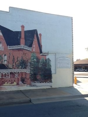 Railroad Street Mural Marker image. Click for full size.