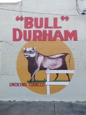 Bull Durham Advertisement image. Click for full size.