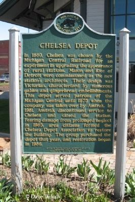Chelsea Depot Marker image. Click for full size.