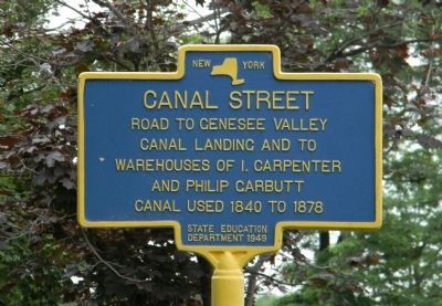 Canal Street Marker image. Click for full size.