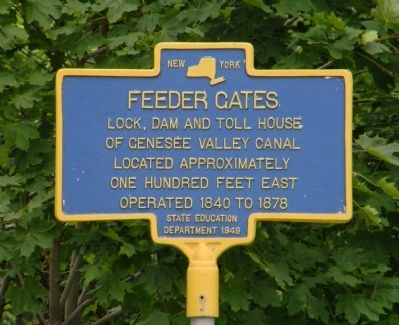 Feeder Gates Marker image. Click for full size.