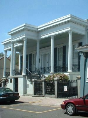 The Xiques House along Dauphine Street image. Click for full size.